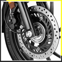 ABS brake system for HONDA CB400 CB500 CBR600 F4I bikes Disc brake system upgrade Anti Lock Braking System in Motorcycle brakes