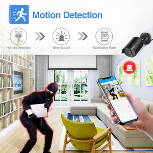 Image 4 - Techege 2MP 48V POE ip camera Audio Record Night Vision Waterproof IP66 Outdoor P2P ONVIF Motion Detection IP Cam for CCTV NVR