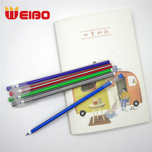 WEIBO 5 Colors Plastic Ball-point Pen Blue Color Ball point Custom Ballpoint Pen Office School Supply Student Stationery Writing cute dinosaur ballpoint pen cartoon 10 colors press ball point pen student multi function mark ball point pen