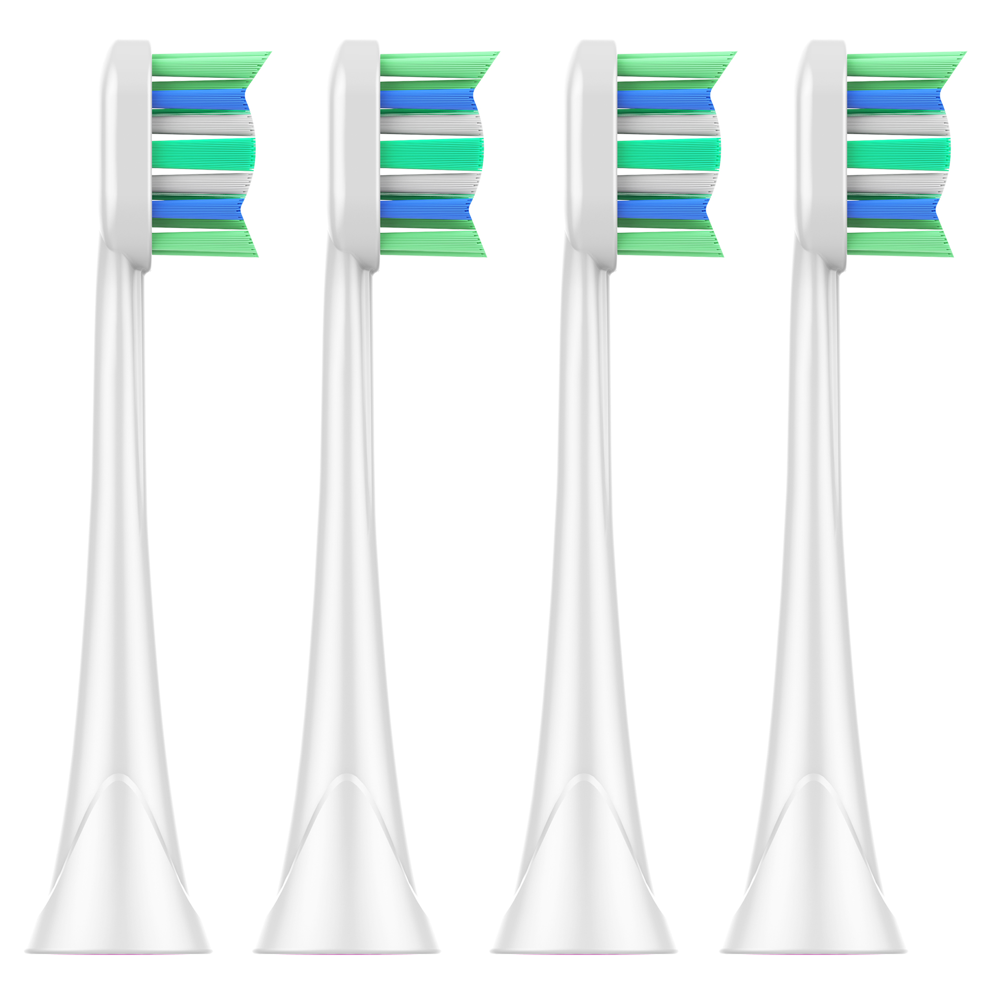4 PCS Reaplacement Toothbrush Heads For Philips Sonicare Toothbrush Heads HX9312 HX9322 HX9331