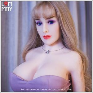 Image 1 - Lommny Levensechte Realistische Siliconen Sex Poppen Robot 168Cm Japanse Echte Grote Sekspop Volledige Levensgrote Volwassen Mannelijke Liefde poppen Mannen