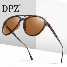 2020 DPZ New Women's Polarized Sunglasses Retro Round Frame aviation