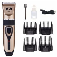 classic body grooming hair clippers shaving set haircut kit precision blade great for barbers and stylist guide combs attachment Electric Pet Hair Clippers Dog Fur Trimmer Grooming Hairdresser Kit Rechargeable Cordless Haircut Machine Cutting Shaver
