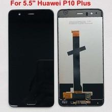 "Оригинальный новый для 5,5 ""Huawei P10 Plus VKY L09 VKY L29 VKY AL00 LCD экран + сенсорная панель дигитайзер с рамкой + отпечаток пальца"