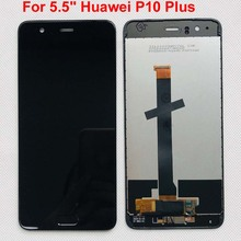 """Original New For 5.5"""" Huawei P10 Plus VKY L09 VKY L29 VKY AL00 LCD Display Screen+Touch Panel Digitizer with Frame+Fingerprint"""