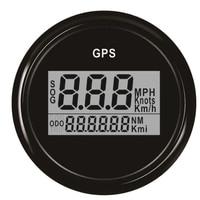 52Mm Gps Speedometer Odometer Digital Boat Speedometer Gauge 0~999 Knots Km/H Mph for Car Boat|Tachometers|   -