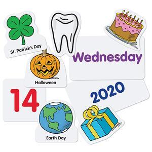 Image 4 - Godery 2020 2028 Preschool Calendar and Weather Pocket Chart Set for Kindergarten Classroom Kids