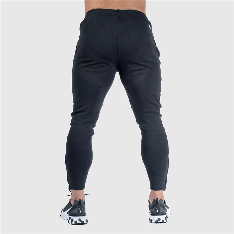 Pants Men Pantalon Homme Streetwear Jogger Fitness Bodybuilding Pants Pantalones Hombre Sweatpants Trousers Men SH 10