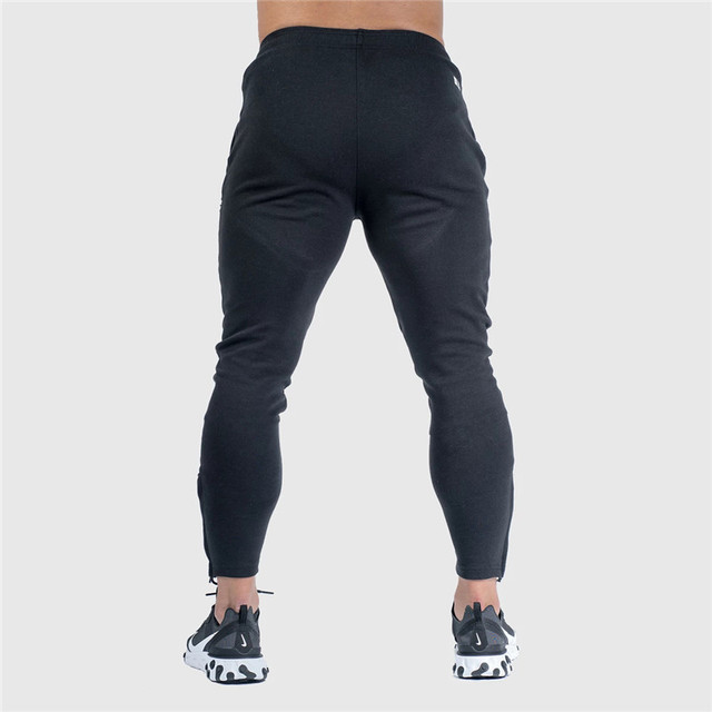 Pants Men Pantalon Homme Streetwear Jogger Fitness Bodybuilding Pants Pantalones Hombre Sweatpants Trousers Men SH 3