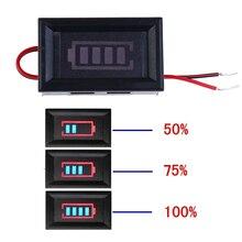 3S 12,6 В литий батарея емкость индикатор вольтметр модуль синий дисплей