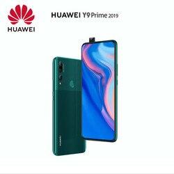 Original Huawei Y9 Prime 2019 Smartphone 4G 128G kirin 710 Octa core Auto Pop-Up Triple AI Camera 6.59 inch 4000 mAh Android 9.0