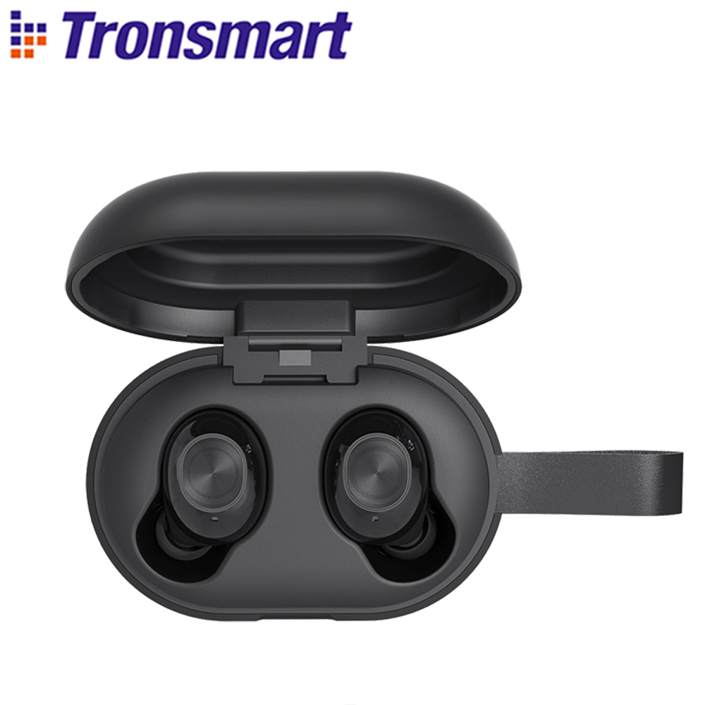 Tronsmart TWS Wireless Earbuds Bluetooth-Earphones Beat APTX Ipx5 Waterproof Deep-Bass title=