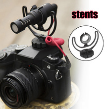 Soporte de zapata para cámara con Rycote, soporte de Lira para VideoMicro Rode, VideoMic Me, micrófono GK99