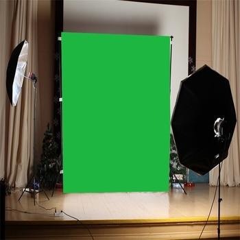 1 ud. Tela de fondo de pantalla verde 90/100/120/150cm fondo de fotografía fondo para accesorios de Video de estudio fotográfico