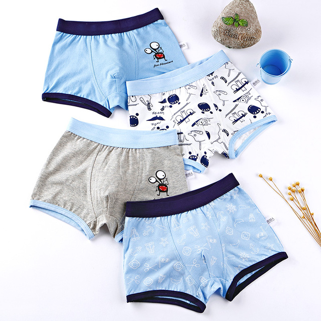 Boys Cotton Underwear Set  3