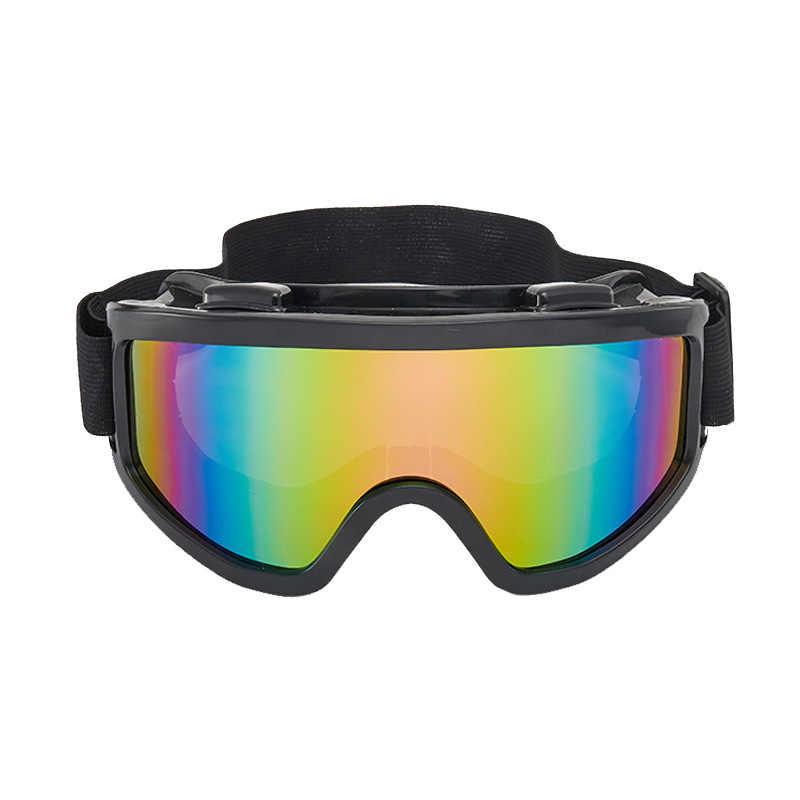 Лыжные очки для сноуборда, горные лыжные очки, снегоходы, зимние спортивные очки, снежные очки