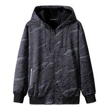 Плюс 10xl 9XL 8XL 7XL зимние толстые флисовые толстовки спортивные свитера мужские повседневные куртки теплые пальто Кофты Камуфляж