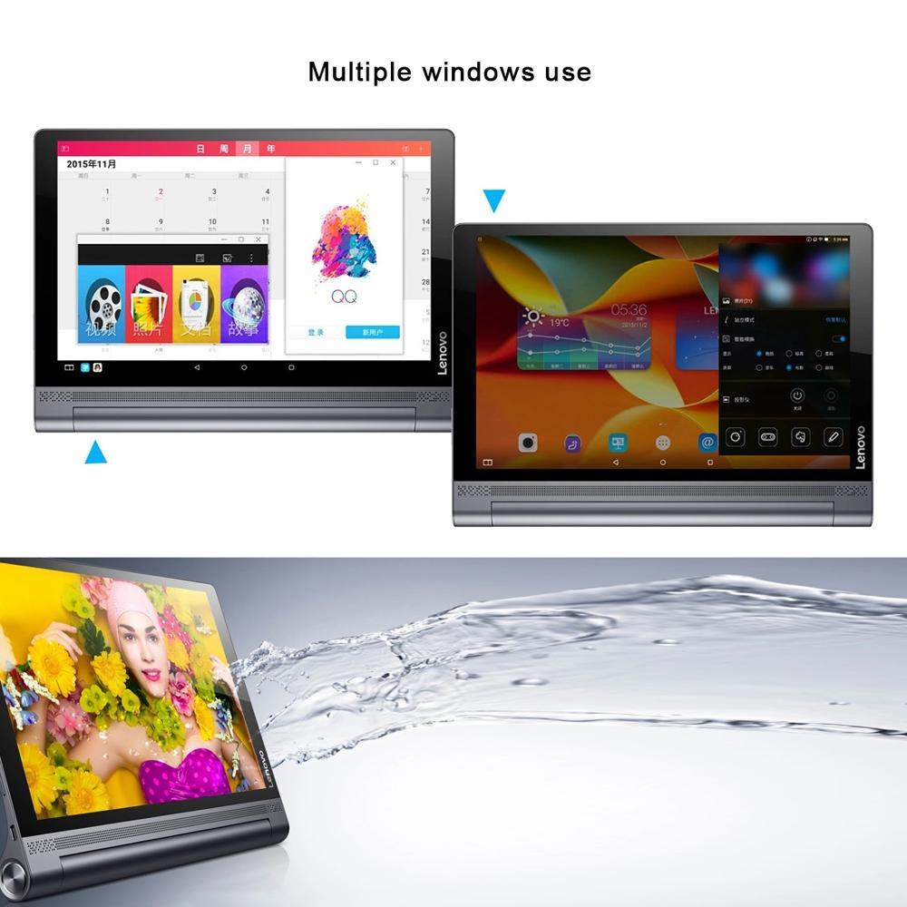 10.1 inch 4GB RAM 64GB ROM Android 6.0 Original Lenovo YOGA Tab3 Pro-X90Y Intel Atom x5-Z8550 Quad Core Tablets PC 2560 x 1600 5