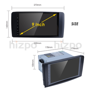 Image 5 - Hizpo DSP 4 Core IPS Android10.0 רכב רדיו עבור מרצדס/בנץ/GL ML CLASS W164 ML350 ML500 X164 GL320 Canbus 4G Wifi GPS BT רדיו