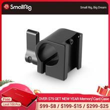 Collier de serrage de tige de 15mm avec sabot froid pour Rail de tige de 15mm/bras magique dextension/monture de chaussure de Microphone 1157