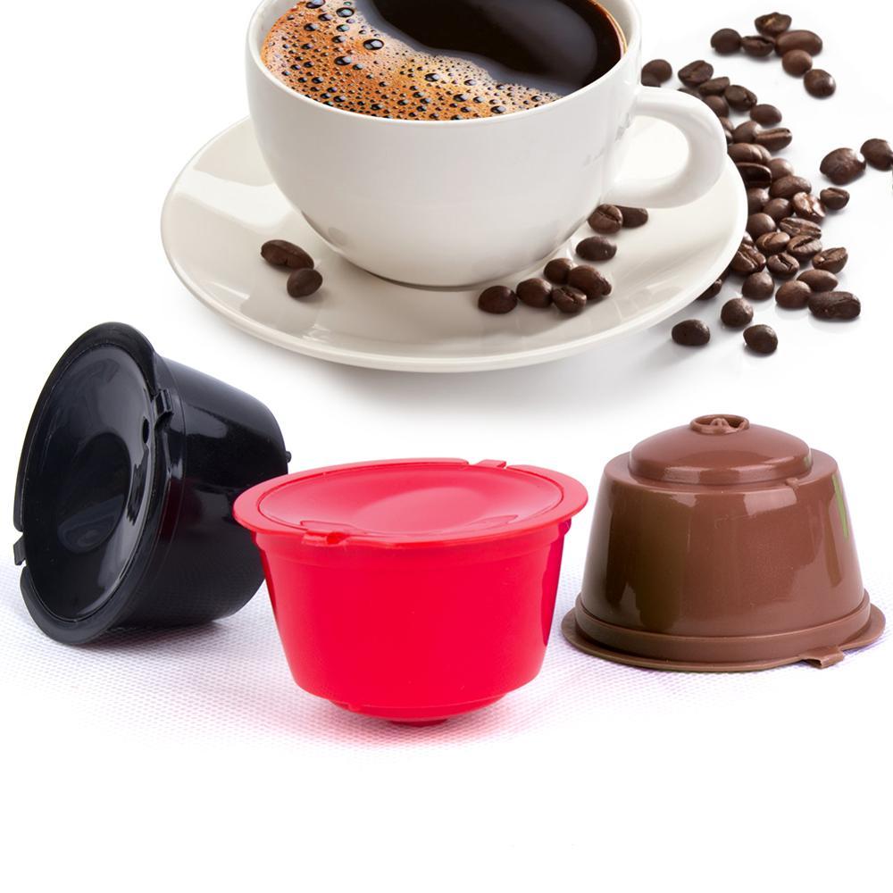 1 шт., многоразовая кофейная капсула для моделей dolce&gusto, многоразовые фильтры, корзины, Pod, мягкий вкус, сладкий фильтр для заправки, кофейная ...