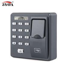 BX6FY Biometric Fingerprint Access Control Machine Digital Electric RFID Reader Scanner Sensor Code System For Door Lock