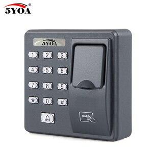 Image 1 - BX6FY Biometric Fingerprint Access Control Machine Digital Electric RFID Reader Scanner Sensor Code System For Door Lock