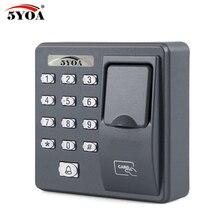 BX6FY 생체 인식 지문 액세스 제어 기계 디지털 전기 RFID 리더 스캐너 센서 코드 시스템 도어 잠금