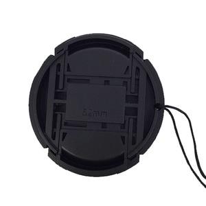 Image 5 - Envío Gratis, 100 Uds., tapa de lente frontal a presión de 49mm 52/55/58/62/67/72/77mm para Canon, Nikon, Olympus, Sony, Pentax y Sigma