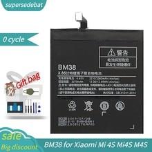 Bateria supersedebat para xiaomi mi 4S mi4s m4s baterias de reparação fazer telefone bateria para mi 4S conjuntos de ferramentas batterie