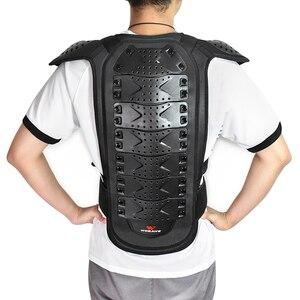 Image 2 - WOSAWE กีฬากลับ Protector แจ็คเก็ต Body ผ้าพันแผลรถจักรยานยนต์รถจักรยานยนต์ชุดป้องกันเกียร์ไหล่สกีป้องกัน
