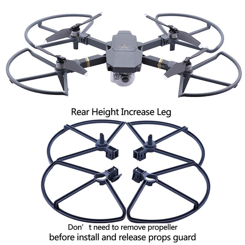 4pcs Propeller Guard Protector For DJI Mavic Pro Platinum Drone Blade Bumper Props Quick Release Protective Cover Landing Gear