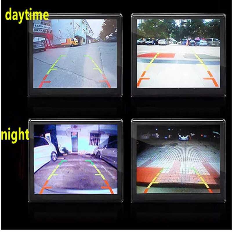 Nowa z nocnym widzeniem 120 stopni widok z przodu samochodu/z tyłu kamera cofania kamera cofania