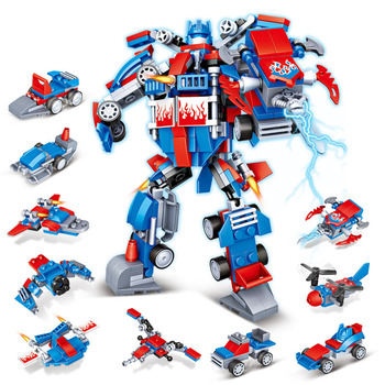 moc 2700pcs transformation super technic robot fit lepining optimus deformation prime heroes building block brick model toy gift Building Block Brick Car Toy Model Children Educational Transformation Robot Compatible with Diy Boy Gift Assembly Kids Toys X08