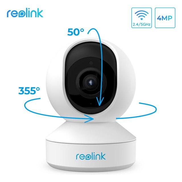 Reolink 4MP WiFi Camera Pan&Tilt 2-Way Audio Motion Detection 2.4G/5Ghz Smart Home Video Surveillance E1 Pro 1