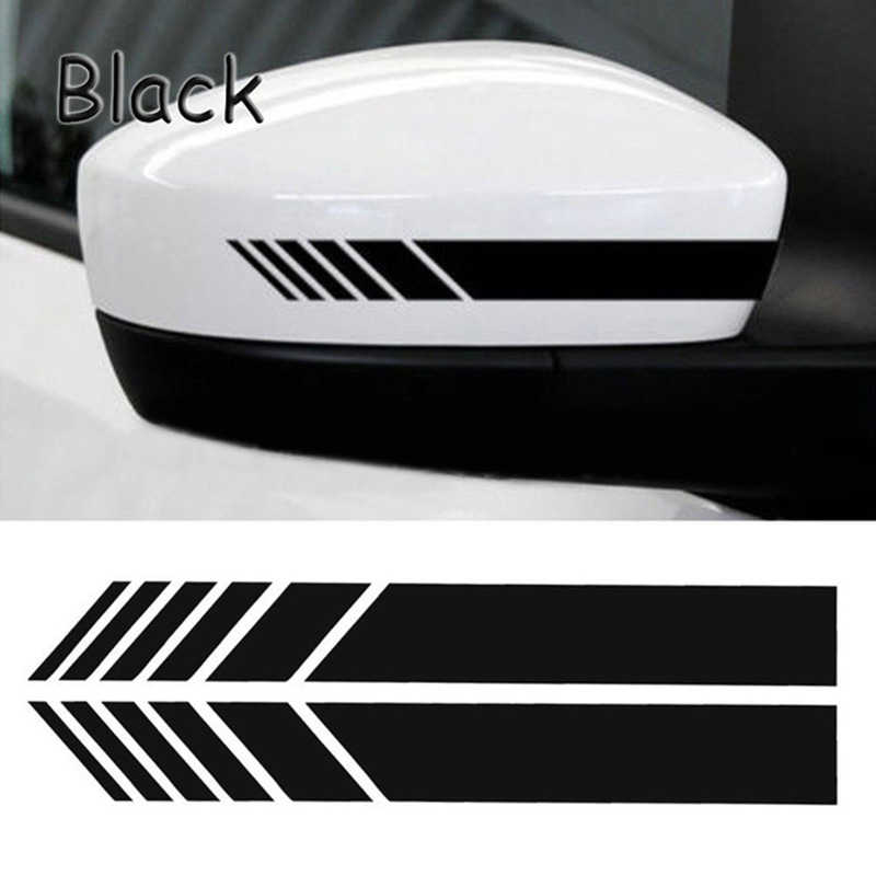 2pcs Rear View Mirror Adesivo Riflettente Auto Adesivi e Decalcomanie Auto Retrovisore Specchi Decorazione Esterna Accessori auto decal