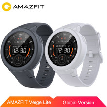 Original AMAZFIT Verge Lite Smart Watch AMOLED Screen Bluetooth 5.0 IP68 Waterproof 20 Days Battery Life for iOS Android