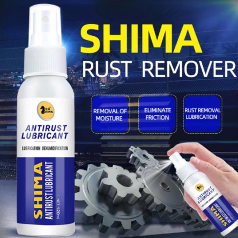 120 ML Rust Remover Window Rust Inhibitor Wheel Hub Screw Derusting Spray For Derusting Metal Parts Home Kitchen Maintenance