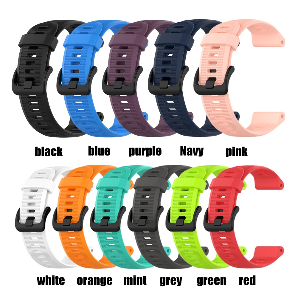 Watch Band For Garmin Forerunner 945 935 Fenix 5 Plus Watch Band Bracelet Strap 22MM Silicone Replacement Watch Accessories