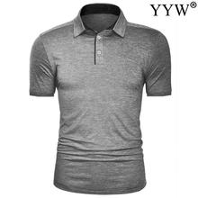 Golf-Shirt Summer Short Men Comfortable Boy's Men's