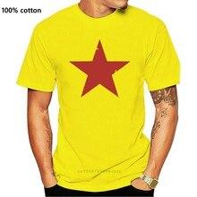 Camiseta masculina da estrela comunista vermelha de cuba-che guevara marx comunismo