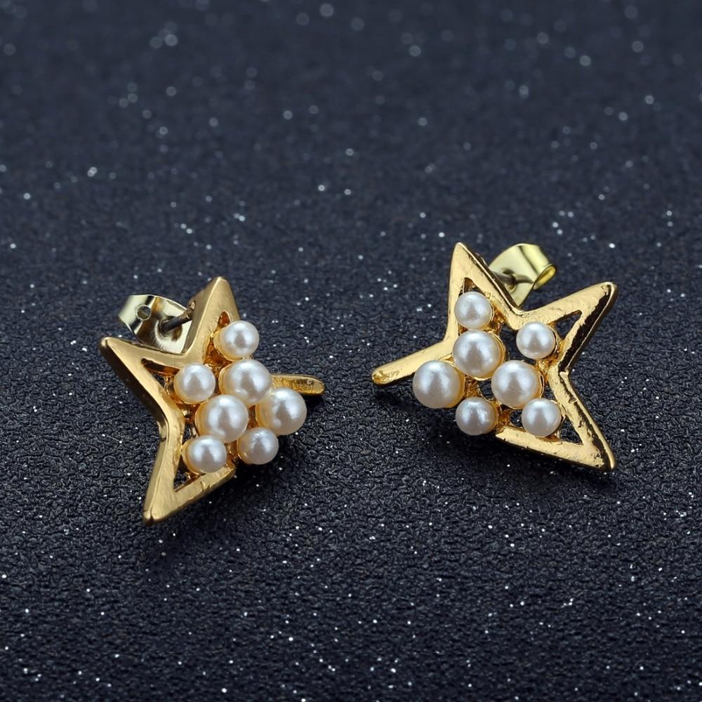 12 Pairs/set Stud Earrings Set With Card Transparent Zircon Balls Love Flowers Earrings Women Imulated Pearl Earrings Jewelry 106