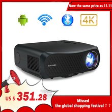 CAIWEI Full HD Projector A12 Native 1080P Android 2G+16G Dual WIFI LED Projector Video Beamer 3D Home Theater Projector