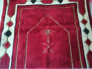 Image 3 - 70*110cm Cashmere Like Islamic Muslim Prayer Mat Salat Musallah Prayer Rug Tapis Carpet Tapete Banheiro Islamic Praying Mat PM20