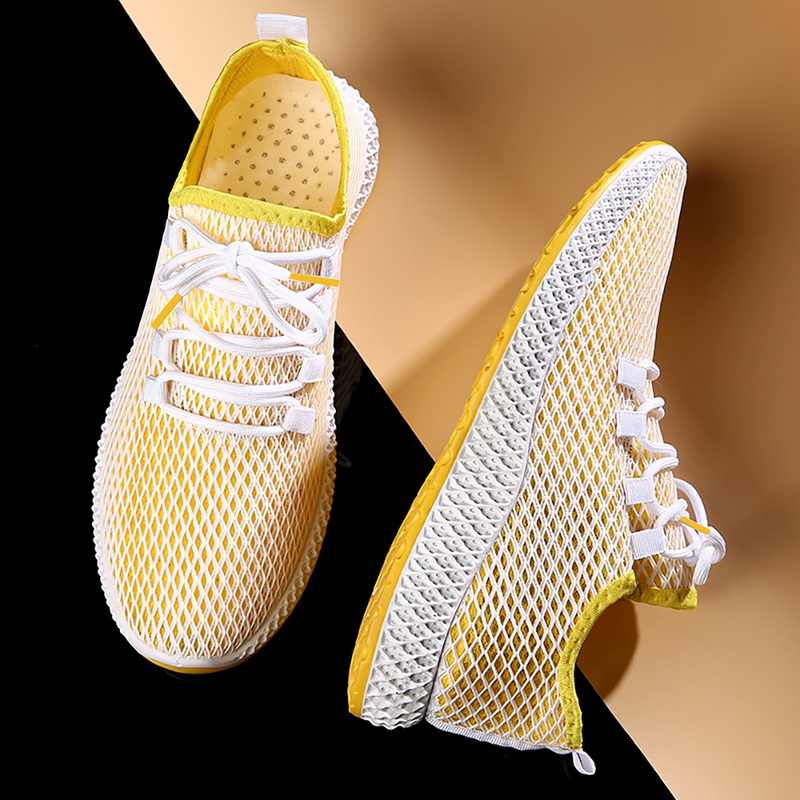 Sonbahar erkek basketbol ayakkabıları spor spor gündelik ayakkabı açık havada Joppings örgü nefes hafif spor ayakkabı 2020