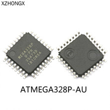 Atmega328p-au tqfp-32 microcontroller IC chip 10pcs lot atmega328p atmega328p au qfp32 new
