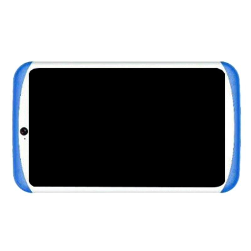 Kids Tablet Pc 7 Inch Quad Core HD Tablet Android 4.4 Dual Camera Wifi+Bluetooth,Blue EU Plug