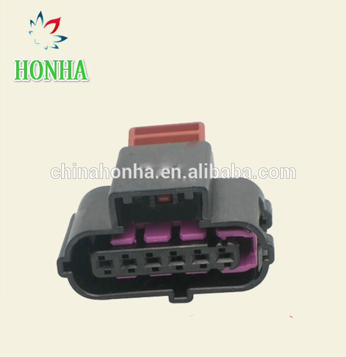 1x Connector 6-way 6 pin Accelerator Pedal Sensor Audi 8K0 973 706
