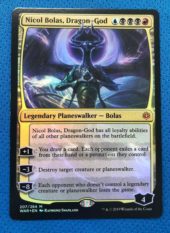 Nicol Bolas, Dragon God WotS Foil Magician ProxyKing 8.0 VIP The Proxy Cards To Gathering Every Single Mg Card.