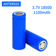2-20 piece 3.7V 18500 rechargeable battery 1100mAh lithium for LED Flashlight etc batteries